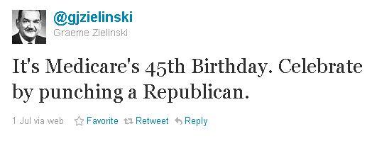 Twitter - @gjzielinski - punch a republican