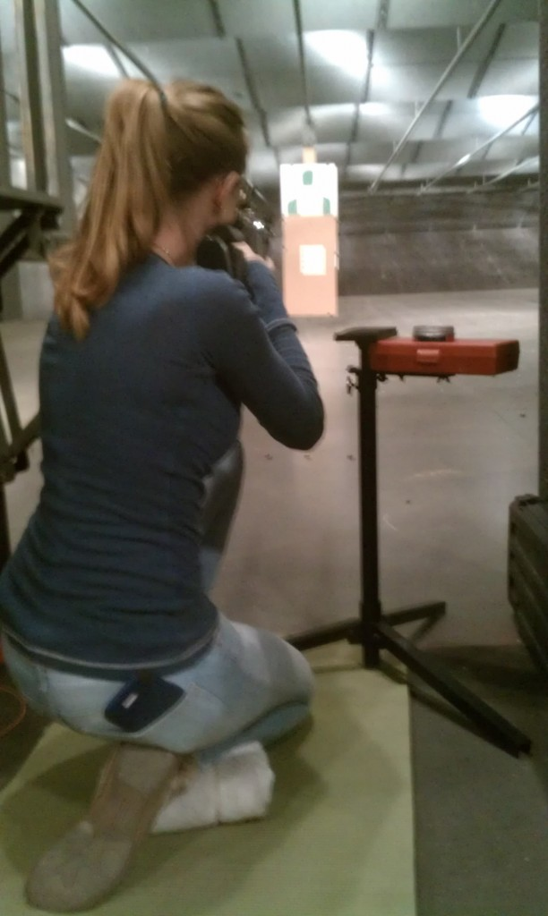 4-H Shooting Daughter