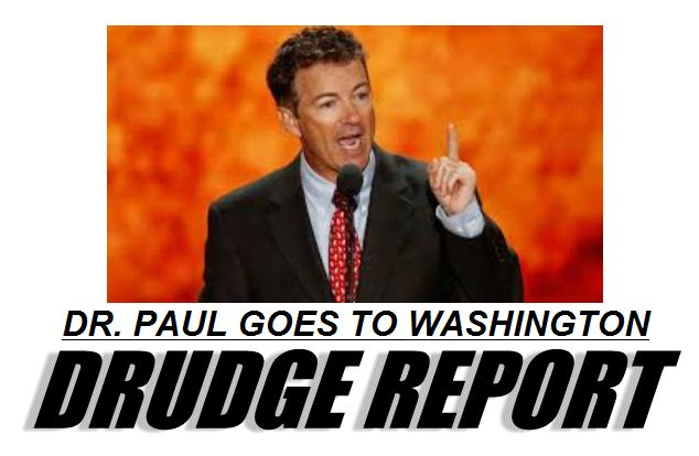 Drudge - Dr Paul goes to Washington