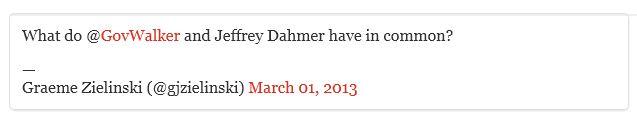 Twitter - @gjzielinski -Walker Dahmer