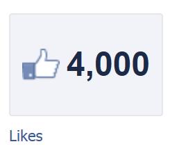 Facebook 4000 likes