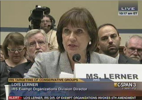 Lois Lerner invokes 5th Amendment