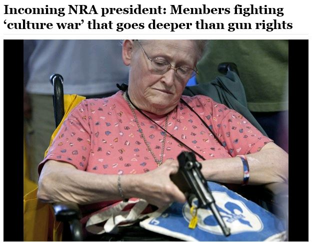 WaPo - NRA culture war convention