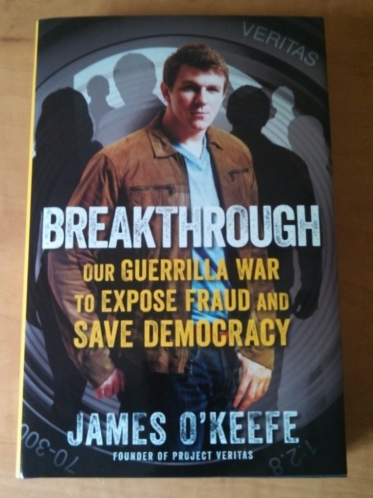 James O'Keefe Breakthrough front cover