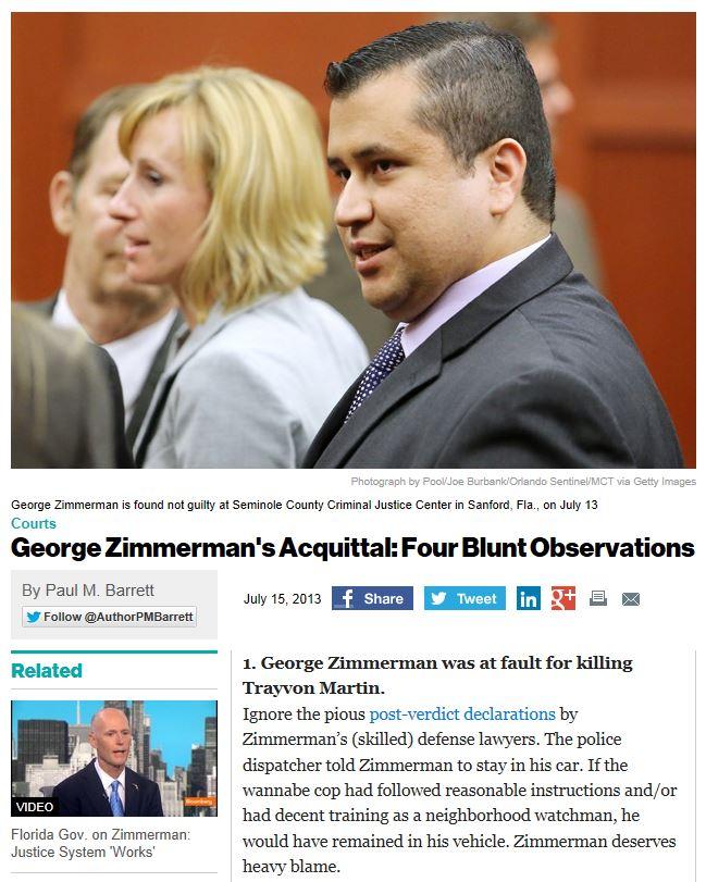 Business Week Four Blunt Observations Zimmerman