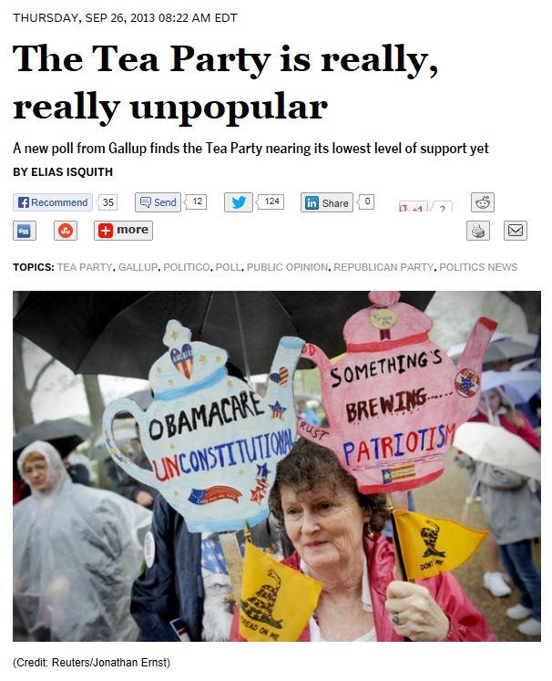 Salon.com - Gallup Tea Party 9-26-2013
