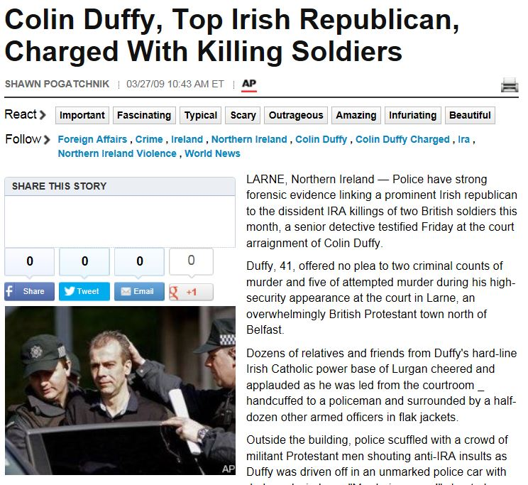 HuffPo AP Colin Duffy Arrest