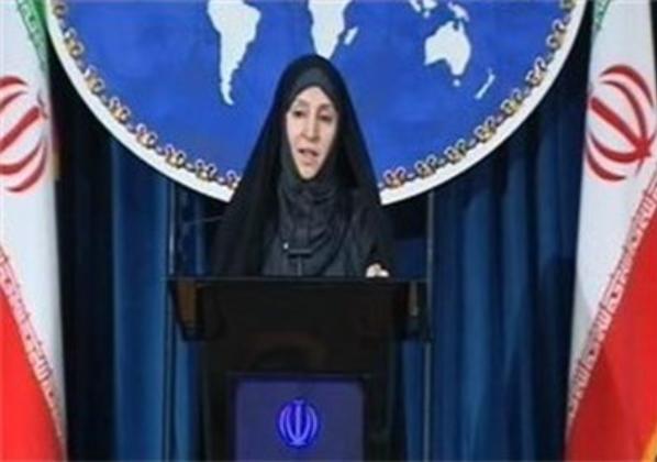 (Marziyeh Afkham, Iran Foreign Ministry Spokeswoman via Tasnim News Agency)
