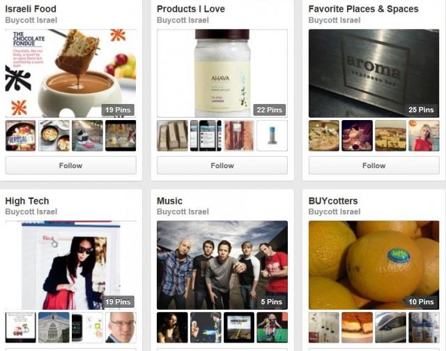 Buycott Israel Pinterest