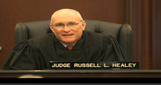 (Judge Russel Healey.)