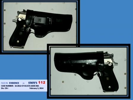 (Dunn's pistol in a RH IWB holster.)