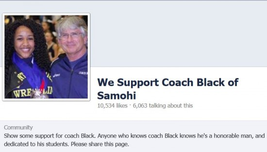Coach Mark Black Santa Monica Support Page