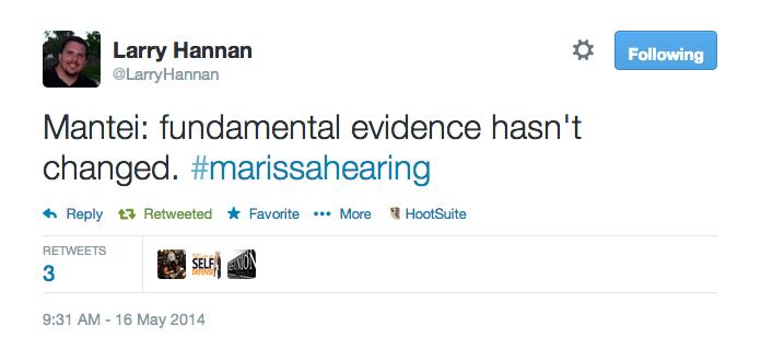 Mantei fundamental evidence hasn't