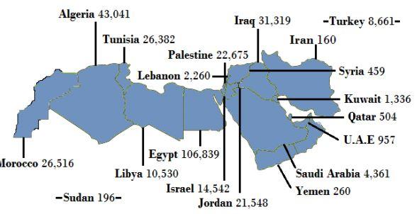 YaLa Young Leaders 2013 Report members map