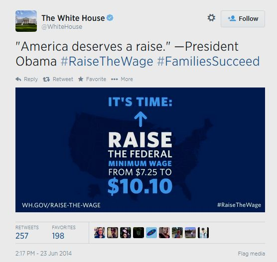 White-house-tweet-america-raise