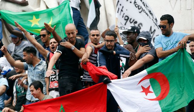 Paris quenelle anti israel protest