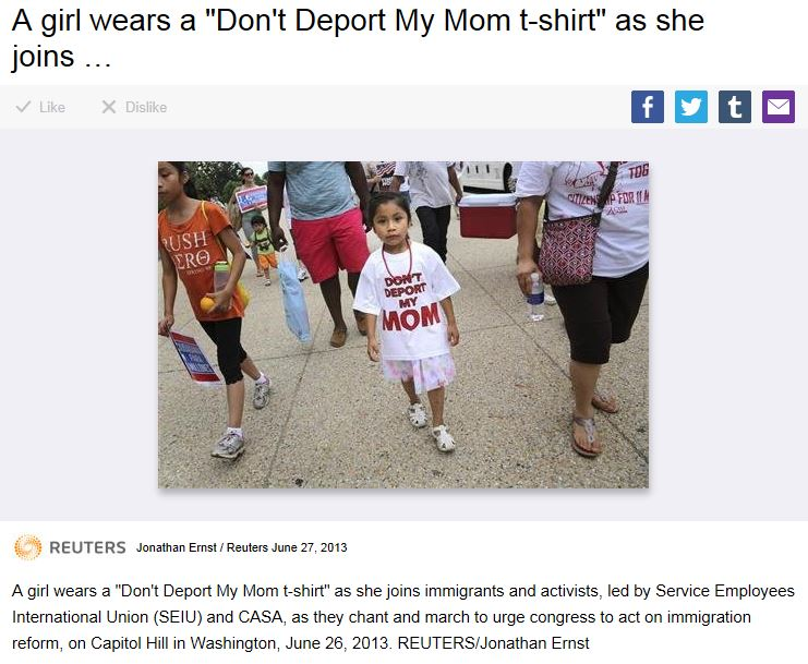 Don't Deport My Mom - Reuters