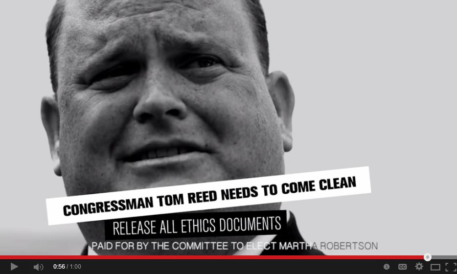 Martha Robertson Video Tom Reed Come Clean 3