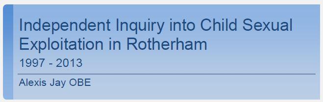 Rotherham Child Exploitation Cover