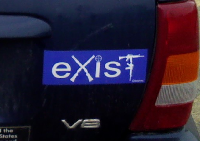 Bumper Sticker - Roswell NM - Exist