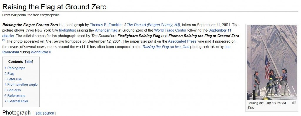 Wikipedia Three Fireman Raising Flat page 9-15-2013
