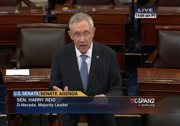 Ex-Senate Majority Leader Harry Reid has surgery for pancreatic tumor