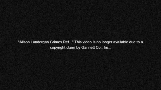 Alison Grimes Obama Voter Gannett copyright claim