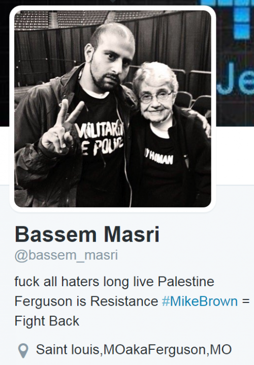 Bassem Masri Twitter Profile Pic and Bio