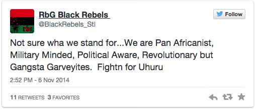 Pan-Africanist #Ferguson