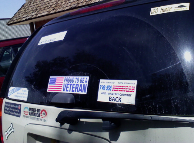 Bumper Sticker - Roswell NM - Veteran