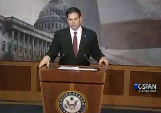 Marco Rubio New Conference Cuba Normalization