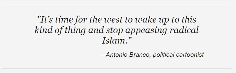 Branco Cartoon Charlie Hebdo FoxNews quote