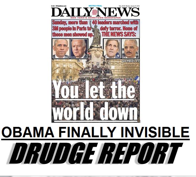Obama Invisible Drudge