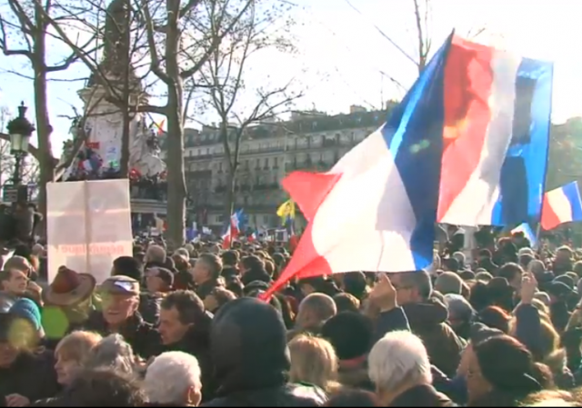Paris National Unity Rally