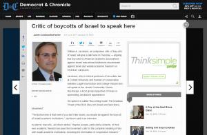 http://www.democratandchronicle.com/story/news/2015/01/25/israel-boycott-jacobson-academic-freedom-american-studies-association/22325819/