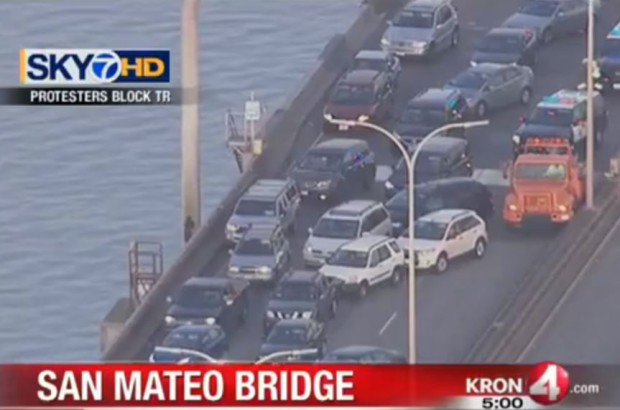 http://kron4.com/2015/01/19/protesters-block-westbound-lanes-on-san-mateo-bridge/