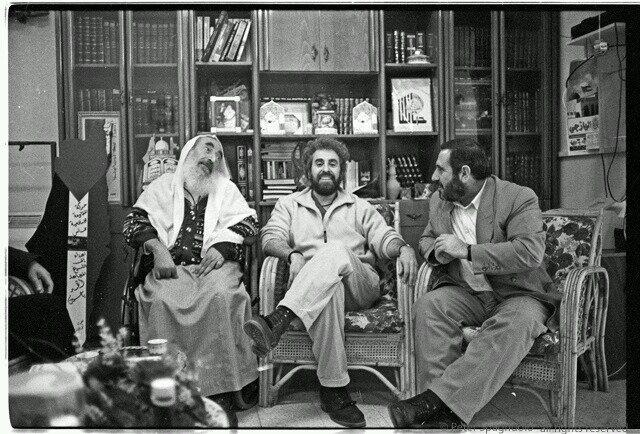 [Sheik Ahmed Yassin and Ismail Abu Shanab]