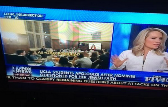 Fox News The Five Legal Insurrection UCLA Video
