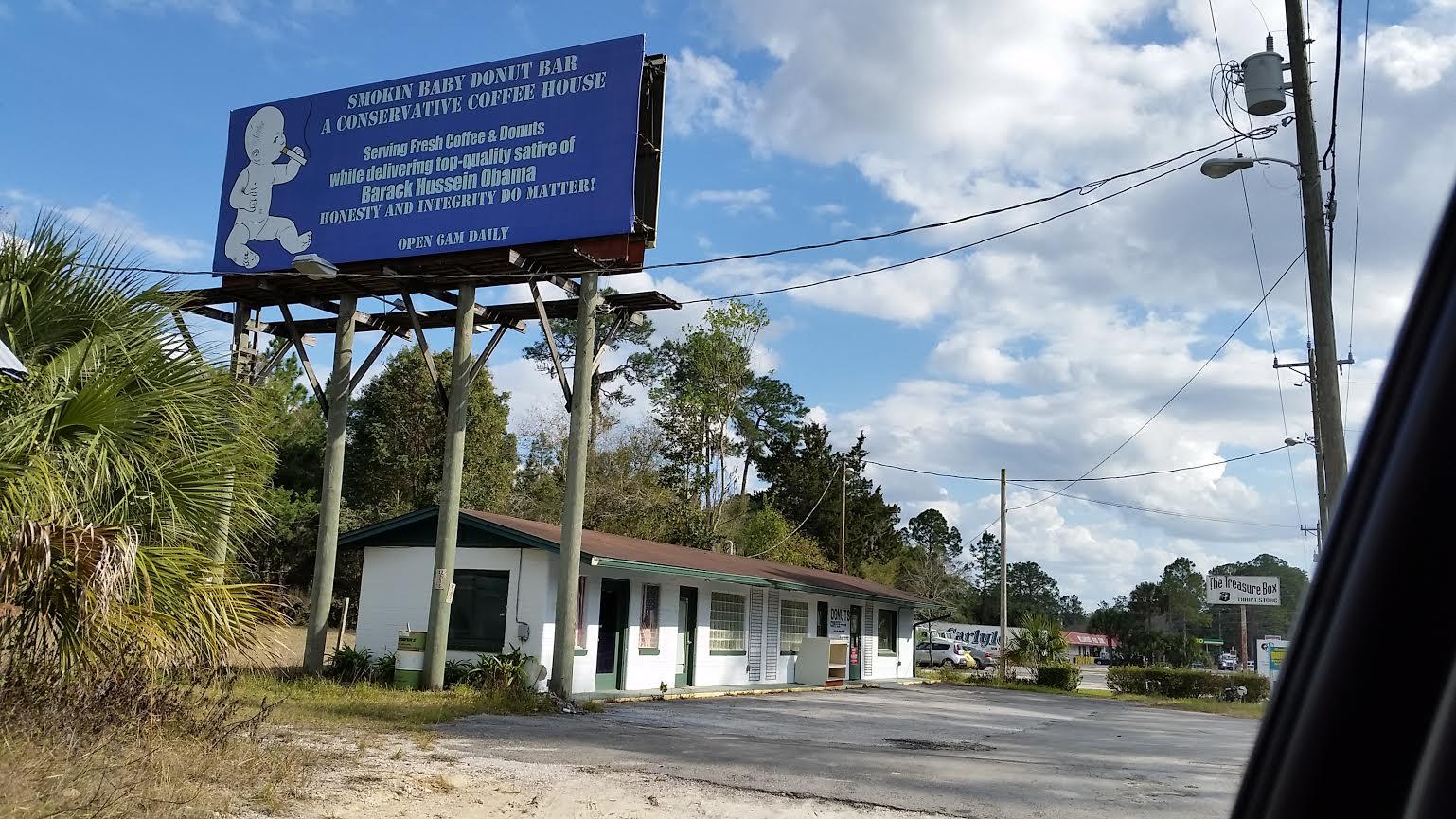 Smokin Baby Donut Bar Billboard