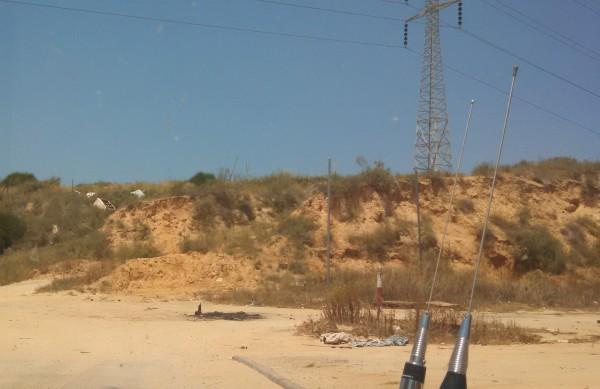 Sderot Hill Overlooking Gaza