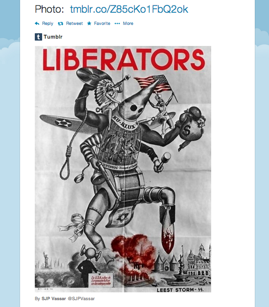 Vassar SJP Twitter Nazi Poster Screen Shot 2014-05-12 at 12.03.51 AM