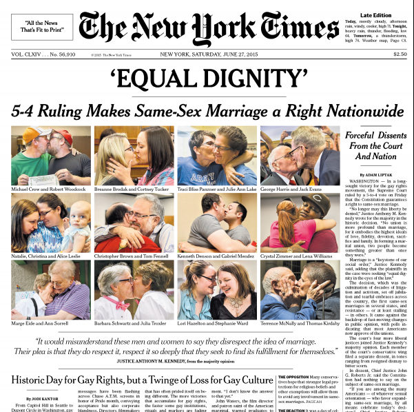 from Neymar ny times gay marriage