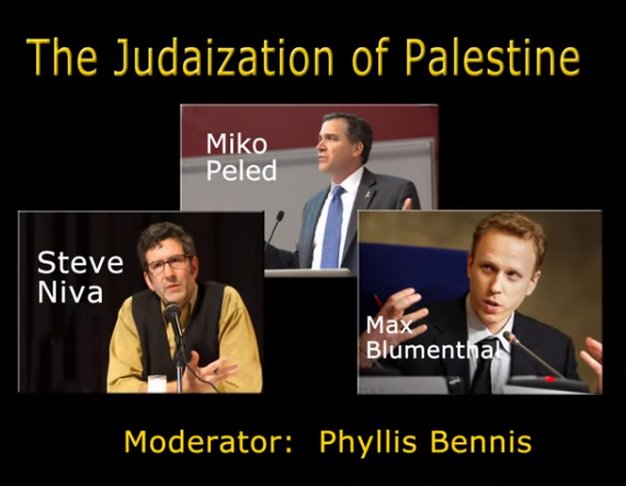 Sabeel Video Judaization of Palestine Max Blumenthal