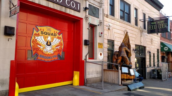 FDNY Squad 1 Station and Food Coop
