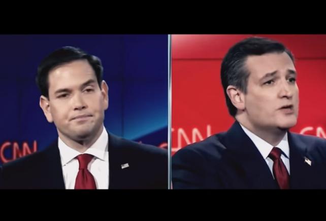 Marco Rubio Ted Cruz Invasion Video