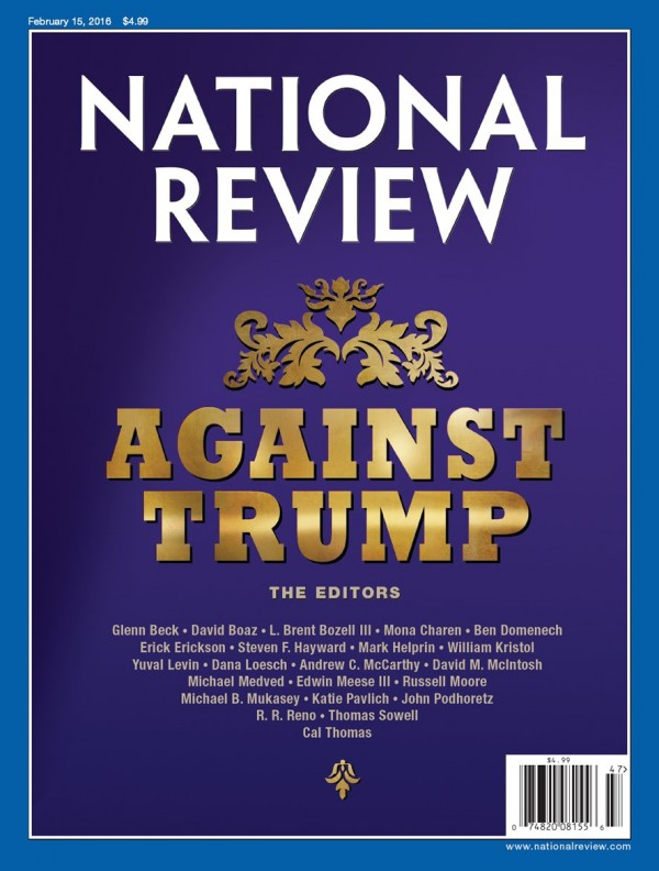 National Review Conservatives Against Trump Cover