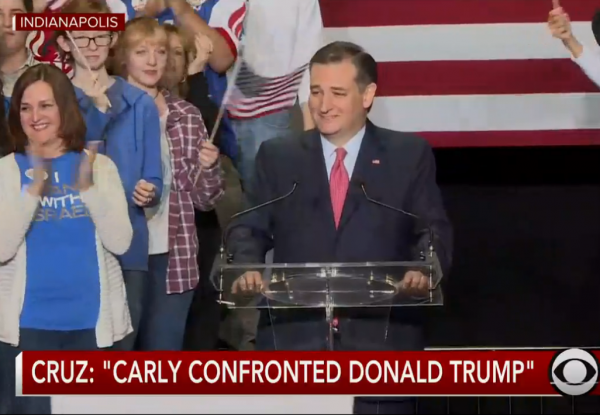 Cruz Fiorina VP Announcement