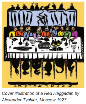 Red Haggadah 1927 | credit: aish.com