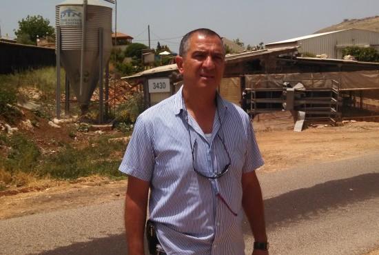 [Shimon Biton, Moshav Avivim, Israel]