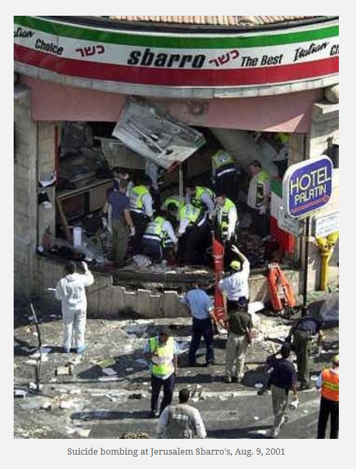 Suicide bombing Sbarro
